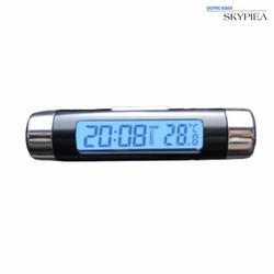 Đồng hồ gắn kính loại tròn XT-01 - Đen