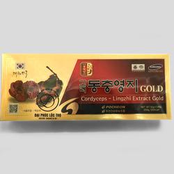 Cao Linh Chi Đông Trùng  Hạ thảo Korea Lingzhi extract Gold