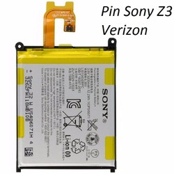Pin Sony Xperia Z3V