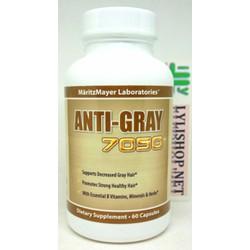 Viên uống trị tóc bạc sớm ANTI GRAY 7050 60 VIÊN của Mỹ