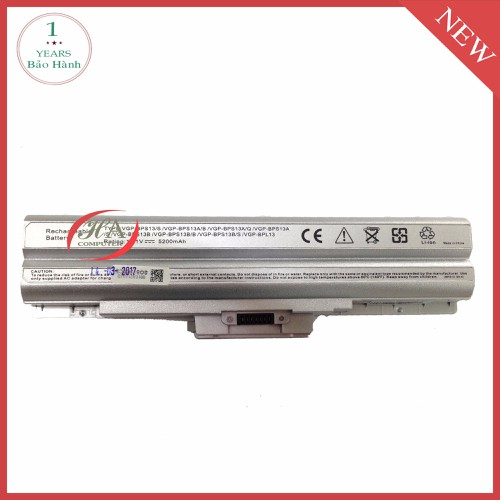 Pin Laptop Sony VAIO VGN SR51BP - 10414067 , 6603170 , 15_6603170 , 680000 , Pin-Laptop-Sony-VAIO-VGN-SR51BP-15_6603170 , sendo.vn , Pin Laptop Sony VAIO VGN SR51BP