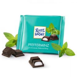 Chocolate nhân bạc hà Pfefferminz - Ritter Sport - Đức - 100g