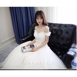 Đầm xoè trễ vai công chúa - A29994