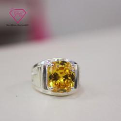 Nhẫn Nam Đá Vàng