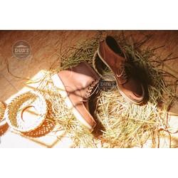Giày cao cổ nam da bò cao cấp redwing classic moc