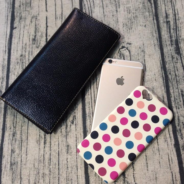 Ốp lưng Iphone 6 6s chấm bi dạ quang 4