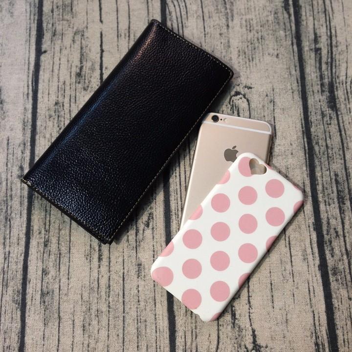 Ốp lưng Iphone 6 6s chấm bi dạ quang 2
