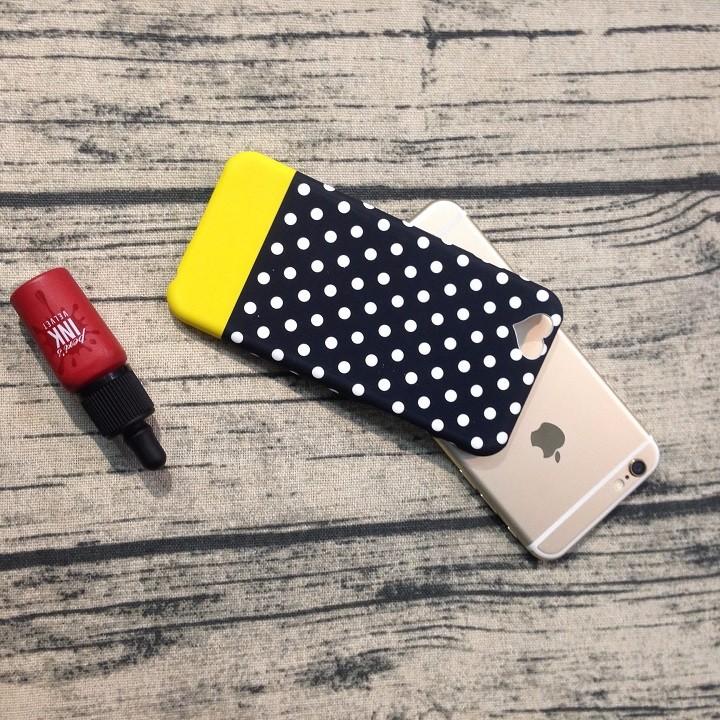 Ốp lưng Iphone 6 6s dạ quang hình trái tim 1