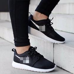 Giày chạy bộ, thể thao nam nữ, màu đen