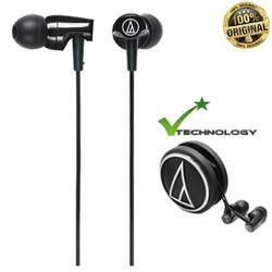 Tai nghe nhét tai Audio Technica ATH CLR100 Đen