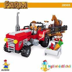 Đồ chơi lắp ráp AUSINI nông trại vui vẻ 28505