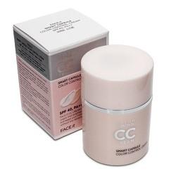 .Kem nền CC Cream Smart Capsule Color Control -TFaceShop