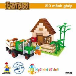 Đồ chơi lắp ráp AUSINI nông trại vui vẻ 28502