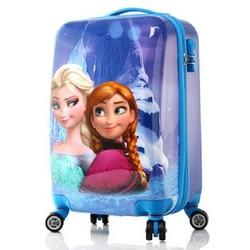 Vali kéo hình công chúa Frozen dành cho bé yêu