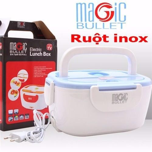 Hộp cơm hâm nóng bằng điện Magic Bullet MI-40 ruột INOX - 4377015 , 6609310 , 15_6609310 , 320000 , Hop-com-ham-nong-bang-dien-Magic-Bullet-MI-40-ruot-INOX-15_6609310 , sendo.vn , Hộp cơm hâm nóng bằng điện Magic Bullet MI-40 ruột INOX