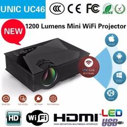 Máy chiếu mini kết nối wifi UNIC UC46