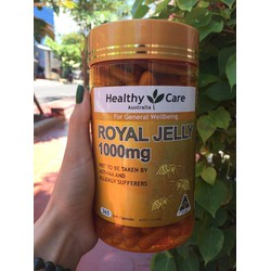 Sữa Ong Chúa Úc Healthy Care Royal Jelly 1000mg