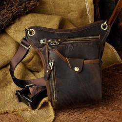 Túi đeo chéo nam da ngựa thương hiệu Đồ da Sài Gòn
