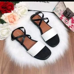 sandal bản quai chéo
