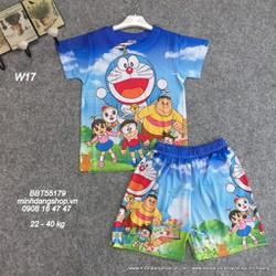 Đồ bộ hình Doraemon chất thun lạnh