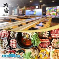 Buffet trưa lẩu băng chuyền Nhật tại Nhà hàng Tokyo Ginza Koma