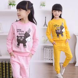 Quần áo tay dài bé gái 3- 8 tuổi