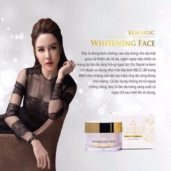 Kem Dưỡng Trắng Da Mặt - Sylic Whitening Face Cream