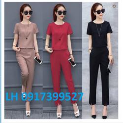 Bộ đồ nữ - bộ đồ thể thao - bộ đồ mặc nhà - bộ đồ mùa hè L122V1572