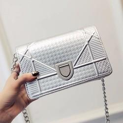 Túi xách DOrma 2 màu bạc, đen