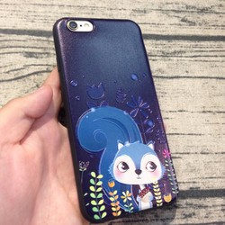 Ốp lưng Iphone 6 6s hình sóc silicon