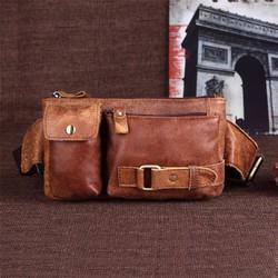 Túi đeo chéo nam tiện lợi thương hiệu Đồ da Sài Gòn