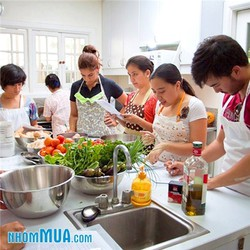 Học nấu ăn ngon  tại TT Sao Mai 6 buổi