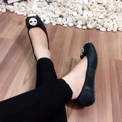 giày búp bê đính nơ siêu xinh