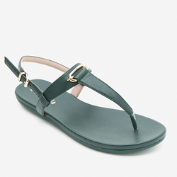 Sandals nữ Mirabella quai kẹp 915 màu xanh rêu