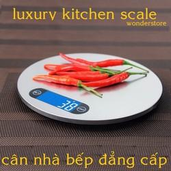 Cân nhà bếp cao cấp 5kg Cân nhà bếp điện tử bếp kiểu dáng sang trọng