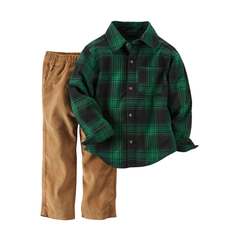 Bộ quần áo bé trai cao cấp Carter Nhập Mỹ CA229G270