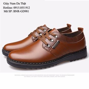 Giày Nam da thật - Mẫu mới sang trọng