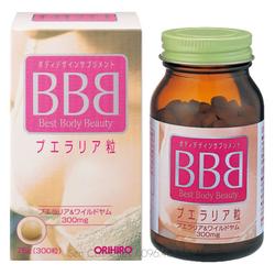 Viên uống nở ngực Best Beauty Body BBB ORIHIRO Nhật Bản 300 viên