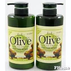 [SALE TƯNG BỪNG] Cặp dầu gội xả Olive - dgx
