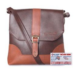 Túi đeo Ipad Huy Hoàng màu nâu