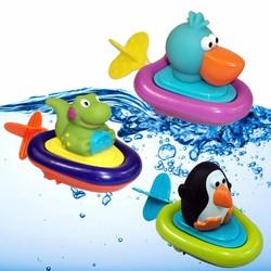 Đồ chơi nhà tắm Cano Sassy kéo dây chạy trên nước cho bé