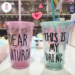 Ly kiểu This is my drink 120