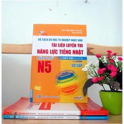 Bộ Sách Du Học Tu Nghiệp Nhật Bản – Đề Thi Thử N5 – Song Ngữ