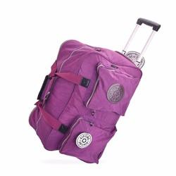 Vali kéo du lịch Kipling màu tím