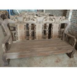 Bộ bàn ghế giả cổ minh quốc đào - gỗ chiu liu - tay 12