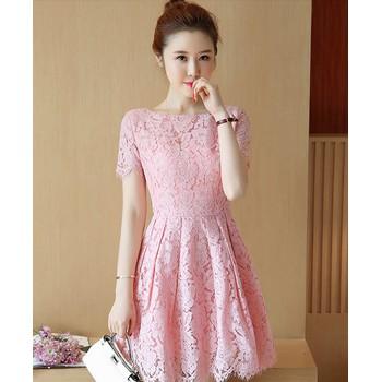Váy ren xòe - đầm ren cao cấp hàng nhập - đầm đẹp