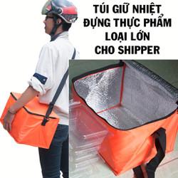 Túi giữ nhiệt đựng thực phẩm cỡ lớn cho shipper giao hàng