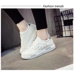 Giày thể thao nữ - Giày trắng nữ xinh - Giay tăng chiều cao