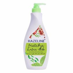 Sữa Dưỡng Thể Trắng Da Matcha  Lựu Đỏ - 370ml HAZELINE
