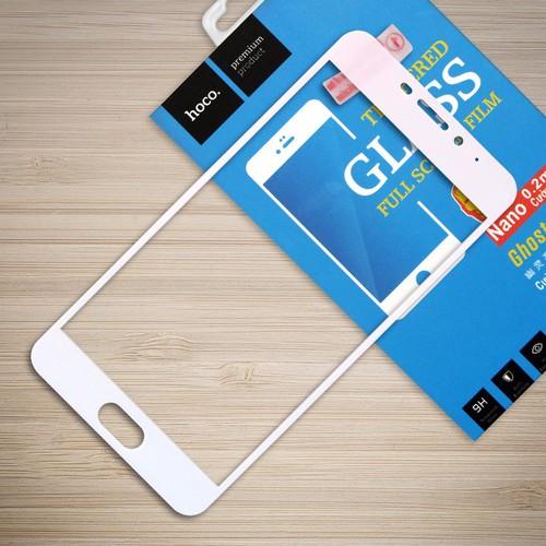 Kính cường lực Meizu M5 Note Full LCD Hoco trắng